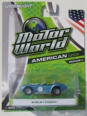 Greenlight Motor World Series 8 Shelby Cobra 427 Creased Hook Area