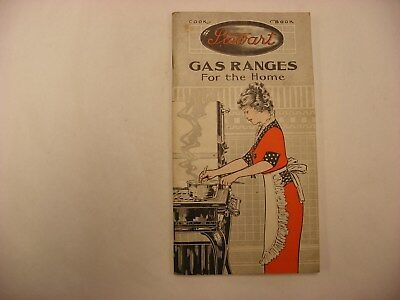 Vtg Antique Stewart Gas Ranges Fuller Warren Co. Milwaukee Wisconsin Catalog
