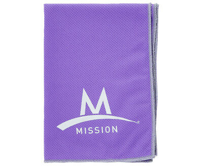 Mission  EnduraCool Yoga Towel - Lavender