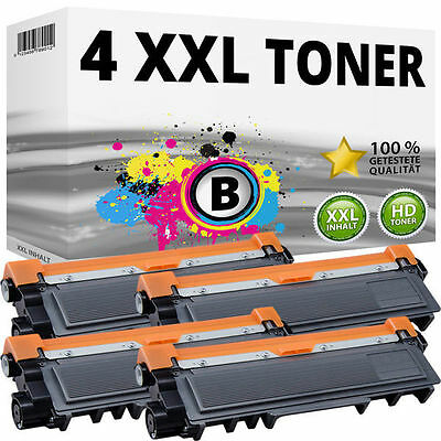 4 XL TONER kompatibel BROTHER TN2320 DCP-L2500D L2520DW L2540DN L2560DW L2740DW