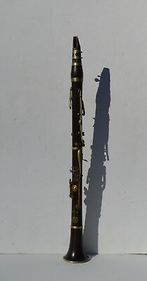 Antique Clarinet From The Tsar's Imperial Army Corp Band Nicholas Ii Period