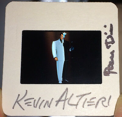 Paul Dini Kevin Altieri SIGNED Batman TAS The Animated Series Film Cell Two Face