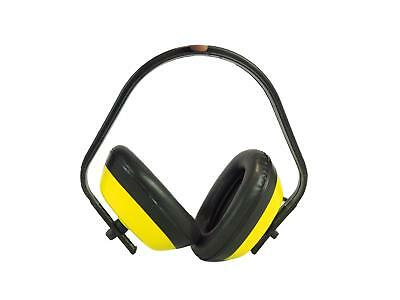 Classic Standard Compact Ear Defenders Noise Protection Power Tools Yellow
