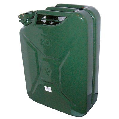 Carpoint 0110009 Tanica Da 20 L In Metallo, Tuv/gs, Verde