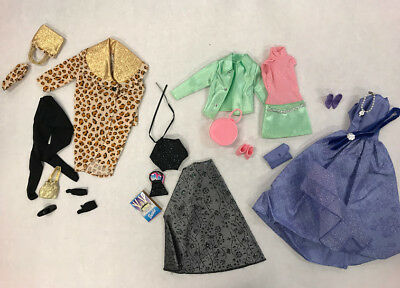 Barbie Mixed Premium Mattel Outfit Lot Fashion Avenue Accessories