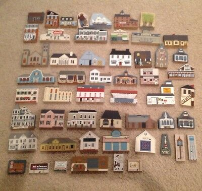 HUGE Lot Cat's Meow Village Collectibles 53 PIECES Retired Members And MORE