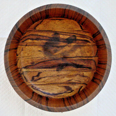 Old Exotic Wood Hand Made Bowl - Antique?
