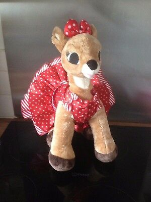 Build A Bear Factory Rare Amp Htf 50th Anniversary Rudolph