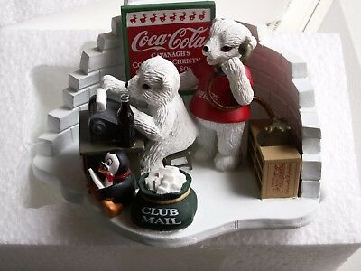 "COCA-COLA FIGURINE ISSUE 1999 ""Hearing from You is a Special Treat"" Limited Ed"