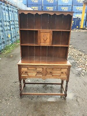 Excellent Antique Dresser with two large drawers and Ornamental Carvings