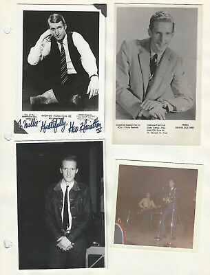 George Hamilton 3 + pages of Promo Photos / Clippings - Grand Ole Opry