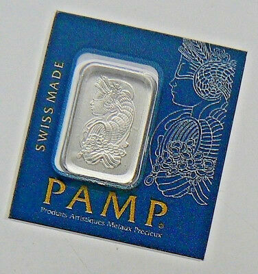 1 GRAM PAMP SUISSE MultiGram PLATINUM BAR .9995 PURE