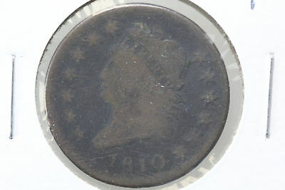 1810 Large Cent G Normal