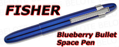 Fisher Space Pen Blueberry Bullet w/ Clip Model 400BBCL