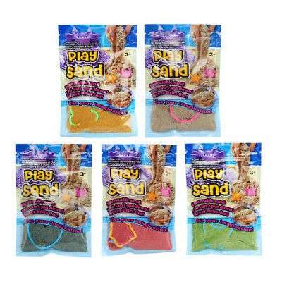100g Magic Kinetic Motion Dynamic DIY Sand Indoor Play Creative Toy with Model