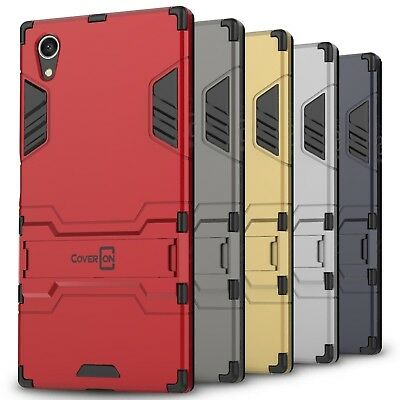CoverON for Sony Xperia XA1 Plus Case Hybrid Stand Armor Hard Slim Phone Cover
