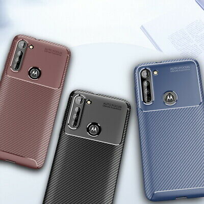 For Google Pixel / 2/ XL Shockproof Hybrid Armor Carbon Fiber Brushed Cover Case