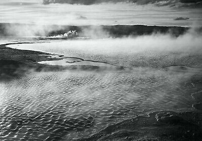 YELLOWSTONE NATIONAL PARK, WYOMING By Ansel Adams Fine Art Giclee Repro 17x24