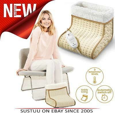Beurer Cosy Foot Warmer│Electronic│Washable│Soft Fabric│3 Heat Setting│100W│New│