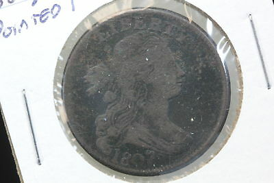 1807/6 Large Cent VG Pointed 1