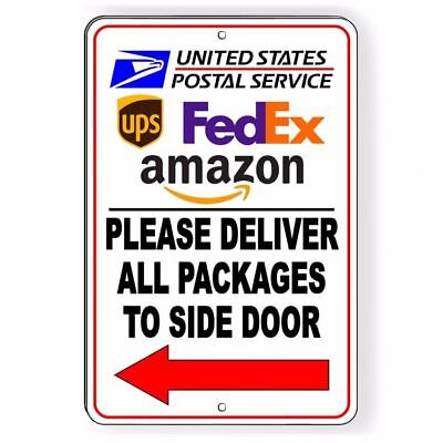 Deliver All Packages To Back Door Do Not Leave Packages In