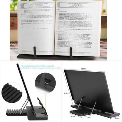 Reading Rest Book Display Stand For Kitchen Cookery Cook Music Book Holder