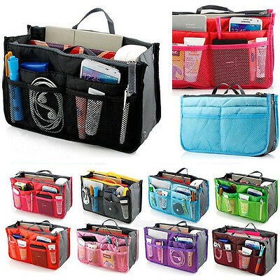 Womens Wash Bag Toiletry Cosmetic Travel Make Up Handle Folding Organizer New