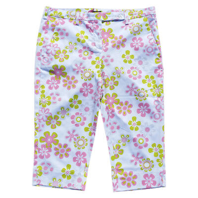 girls golf Capri (pink flower) - NEU