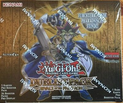 Yugioh - 6 Booster  Duelist Pack - Rivals of the Pharaoh 1.Aufl. deutsch NEU/OVP
