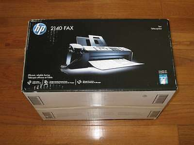 **New** HP 2140 Professional Quality Plain Paper Fax Machine Copy Phone Copier