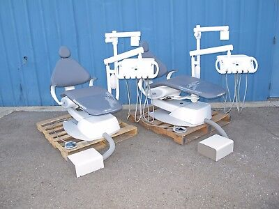 LOT of 2 KAVO Environment Dental Chair w/ Delivery System and Monitor Mount