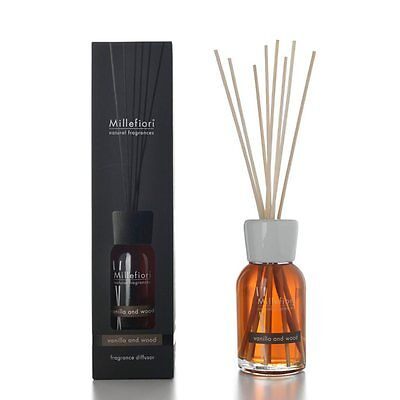 MILLEFIORI Natural Raumduft Diffuser 250 ml VANILLA & WOOD