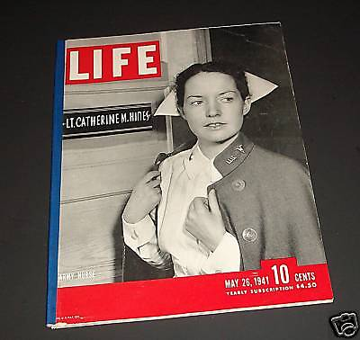 May 26, 1941 LIFE Magazine WWII War old ads. FREE SHIPPING 5 41 24 25 27 28 29