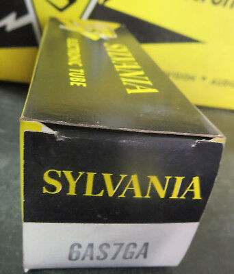 Sylvania 6AS7GA Vacuum Tube