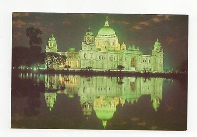 Calcutta Victoria Memorial Postcard India 0837