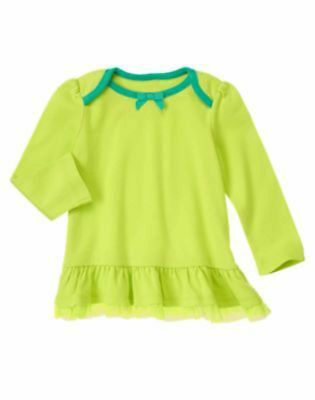 NWT Gymboree Girls Color Happy Embroidered Smile Top Size 4T /& 5T