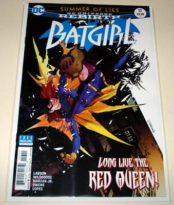BATGIRL # 17  DC Comic  (January 2018)   NM  1st Printing.