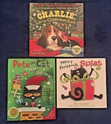 Lot of 3 Popular Children's Picture Books: Christmas Stories - Hardcovers
