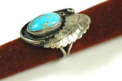 Estate Found Silver & Turquoise Native American Ring NO RESERVE
