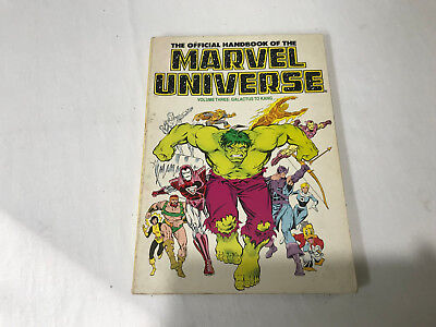 The Official Handbook of the Marvel Universe Vol. 3 - Galactus to Kang Paperback