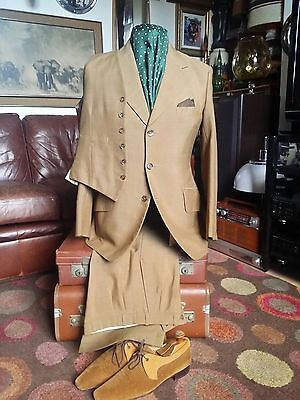 Vintage 1960's 3 piece Mohair Suit.ivy League Mod jazz Suedehead Rude Boy.SMALL