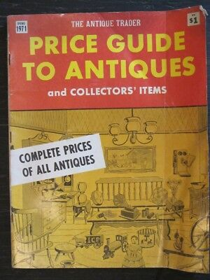 The Antique Trader Price Guide Magazine Spring 1971