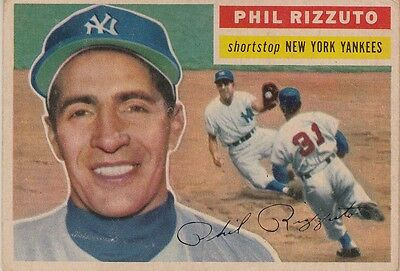 Topps 1956 #113 Phil Rizzuto-Hall of Famer-New York Yankees
