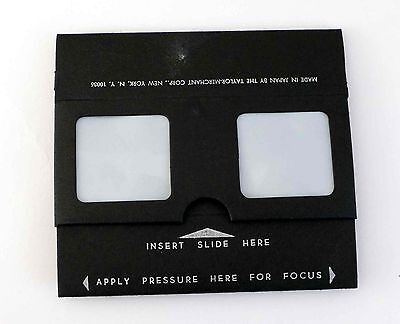 Stereo Slide Viewer Realist format - Folding, can be mailed Taylor Merchant