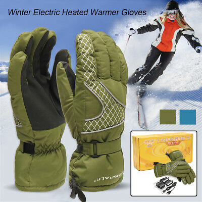Winter Warmer Electric Rechargeable Battery Powered Heated Cycling Thermo Gloves