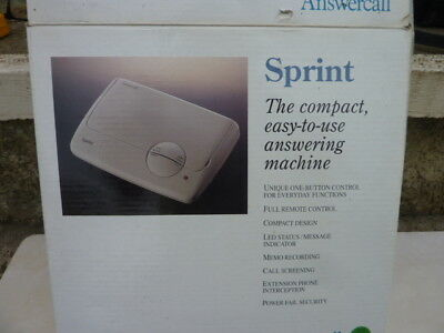 Sprint Answering Maching complete with power adapter and User guide