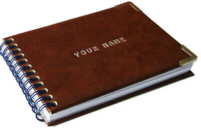Personalised book BLANK PAGES with INTRIGUING QUESTIONS your name on front cover