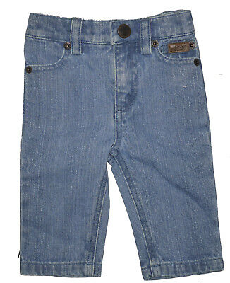 Marie Chantal Fade Wash Jeans 6 Months NWT