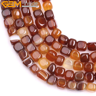 Hot Natural Red Carnelian Potato Agate For Jewelry Making Loose Beads Gemstone