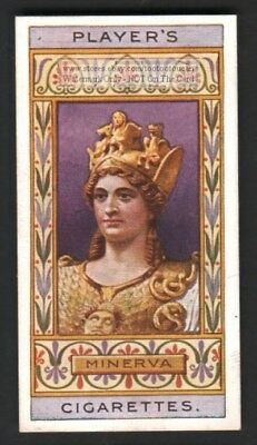 Minerva Ancient  Roman Goddess  Wisdom And Sponsor Of Art 100+ Y/O Trade Ad Card